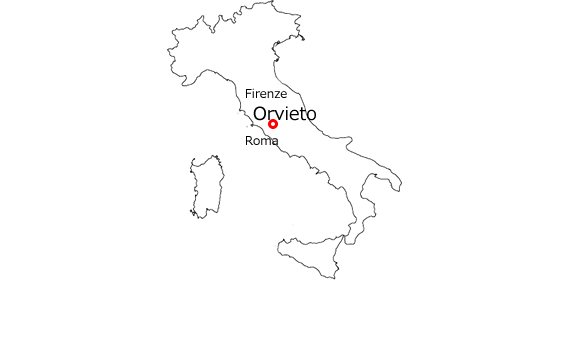 Image result for map orvieto italy