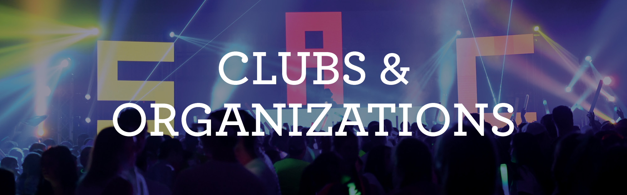 Clubs and organizations information