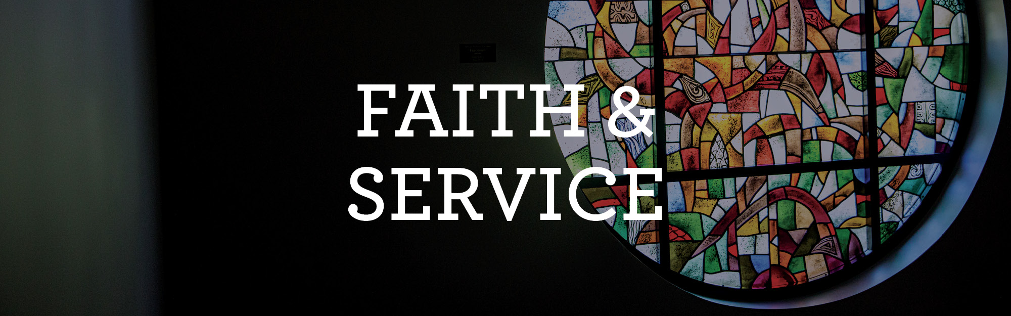 faith and service information