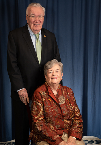 Jack and Eileen O'Connor