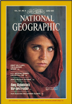 National Geographic Cover in 1985