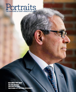 Cover of the fall/winter 2020 issue of Portraits Magazine