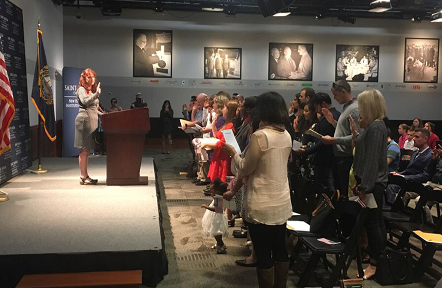New Hampshire Gains 28 New Citizens in Naturalization