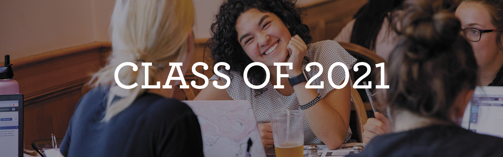 Class of 2021 Donor Information