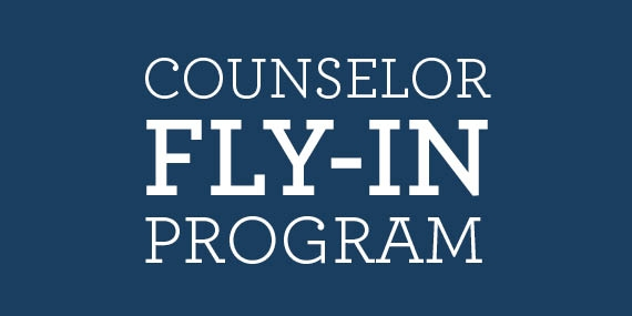 Counselor Fly-in Program